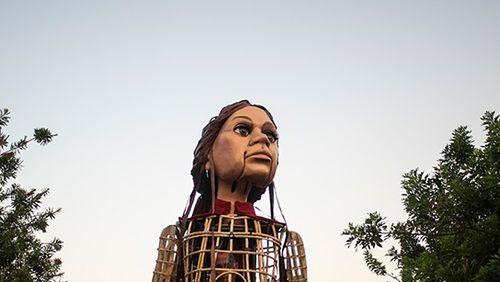 La marionnette Amal, une scène de 8000 km